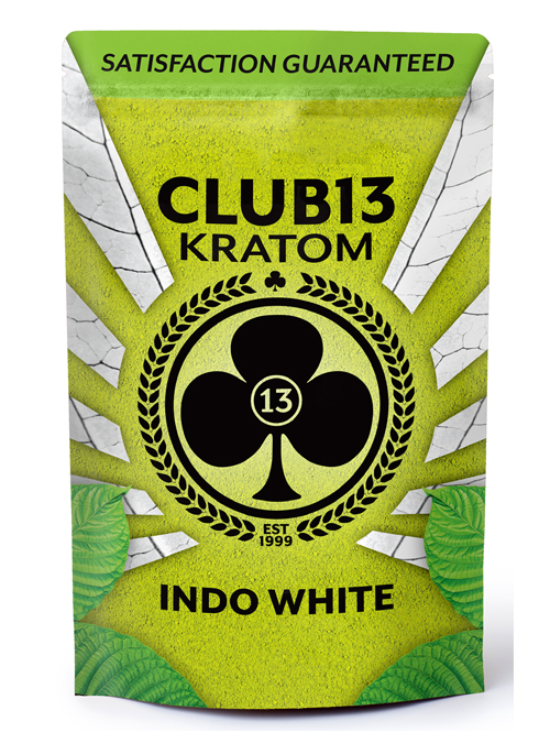 indo white kratom powder