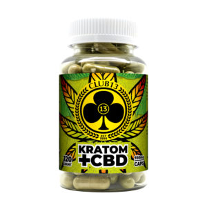 Photo of Club13 Kratom CBD Capsules 120