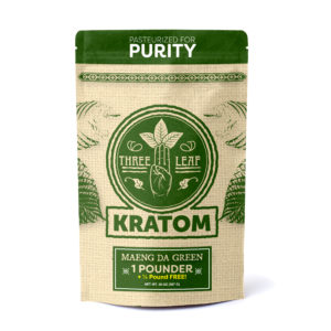 Three Leaf Maeng Da Green Kratom Powder