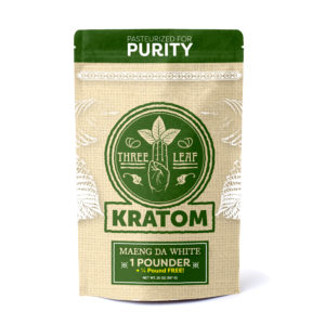 Three Leaf Maeng Da White Kratom Powder