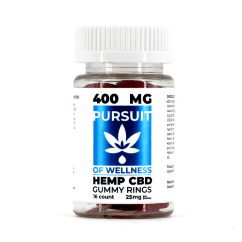 Pursuit of Wellness CBD Gummies