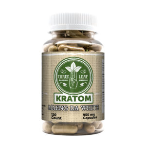 Three Leaf Maeng Da White Capsules