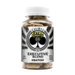 Executive Blend Extra Strength Kratom Capsules 120