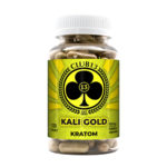 A bottle of Club13 Kali Gold Capsules